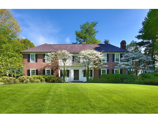 Single Family Home for Sale at 35 Wykeham Road Newton, Massachusetts 02465 United States