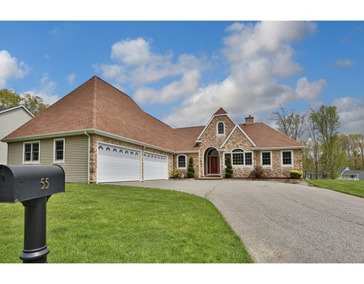 Single Family Home for Sale at 55 Sutherland Drive Somerset, Massachusetts 02726 United States