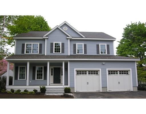 단독 가정 주택 용 매매 에 197 Wachusett Avenue Arlington, 매사추세츠 02476 미국