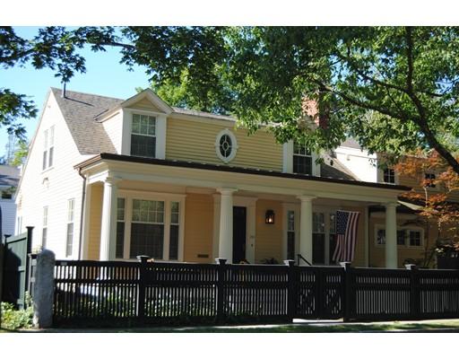 Additional photo for property listing at 232 Brattle Street  Cambridge, Massachusetts 02138 United States