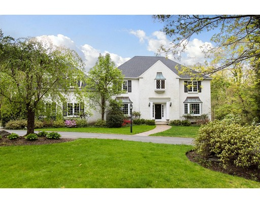 Single Family Home for Sale at 38 Peirce Road Wellesley, Massachusetts 02481 United States