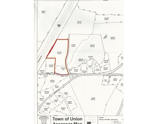 Land for Sale at Szych Road Szych Road Union, Connecticut 06076 United States