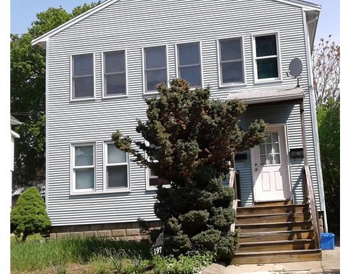 Casa Multifamiliar por un Venta en 197 Adams Street Malden, Massachusetts 02148 Estados Unidos