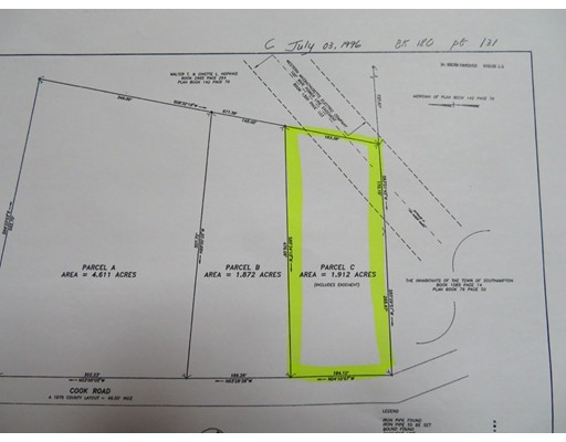Land for Sale at 13 Cook Road Southampton, Massachusetts 01073 United States