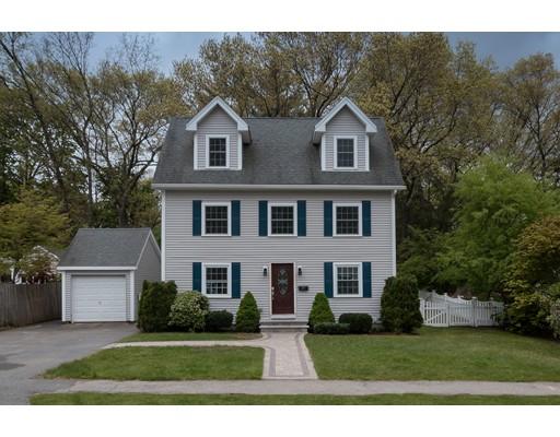 Single Family Home for Sale at 38 Oakridge Avenue Natick, Massachusetts 01760 United States