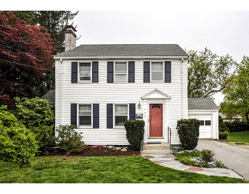 Single Family Home for Sale at 103 Bacon Street Natick, Massachusetts 01760 United States