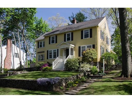 Частный односемейный дом для того Продажа на 68 Wentworth Road Melrose, Массачусетс 02176 Соединенные Штаты