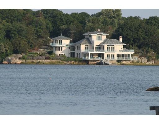 Maison unifamiliale pour l Vente à 127 Nichols Road 127 Nichols Road Cohasset, Massachusetts 02025 États-Unis