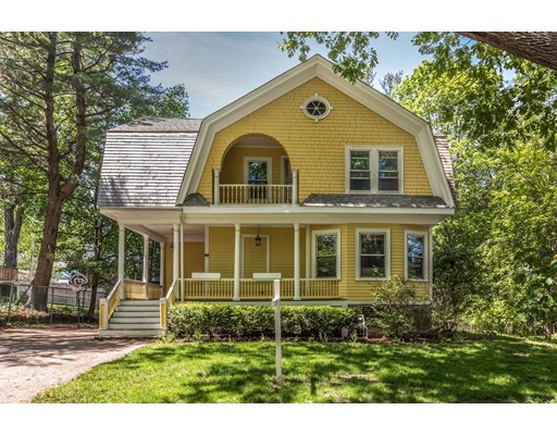 Single Family Home for Sale at 17 Myrtle Street Belmont, Massachusetts 02478 United States