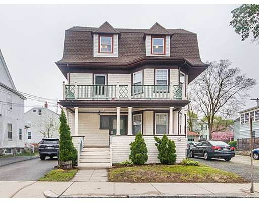 Condominium for Sale at 12 Water Street Arlington, Massachusetts 02476 United States