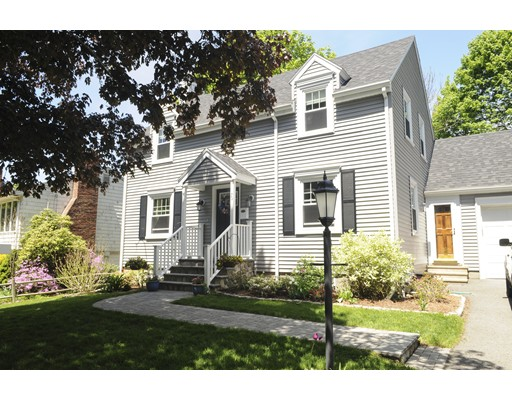 Single Family Home for Sale at 76 Browning Road Arlington, Massachusetts 02476 United States
