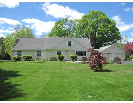 独户住宅 为 销售 在 62 Green River Road Greenfield, 马萨诸塞州 01301 美国