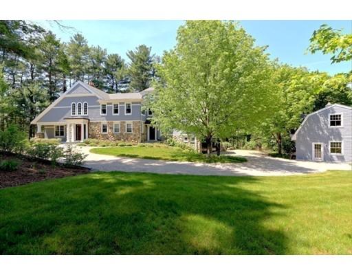 Maison unifamiliale pour l Vente à 7 Ellen Mary Lane Wayland, Massachusetts 01778 États-Unis