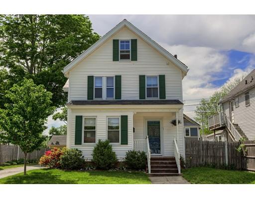 Single Family Home for Sale at 11 Gilbert Street Framingham, Massachusetts 01702 United States
