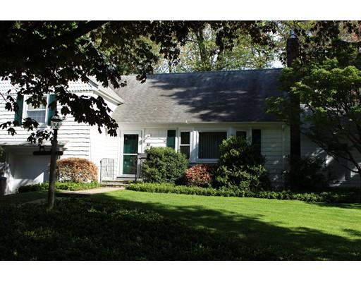 Single Family Home for Sale at 33 Partridge Lane Belmont, Massachusetts 02478 United States