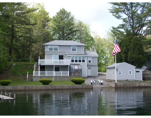 Single Family Home for Sale at 91 South Shore Road Webster, Massachusetts 01570 United States