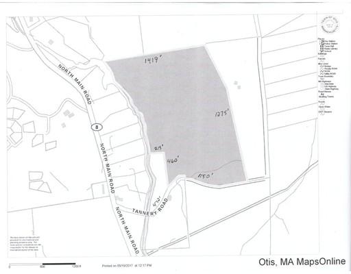 Terrain pour l Vente à Address Not Available Otis, Massachusetts 01253 États-Unis