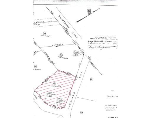 Terreno por un Venta en 165 Highland Way 165 Highland Way Sandisfield, Massachusetts 01255 Estados Unidos