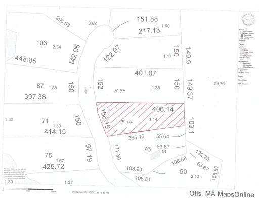 土地 为 销售 在 Address Not Available Otis, 马萨诸塞州 01253 美国