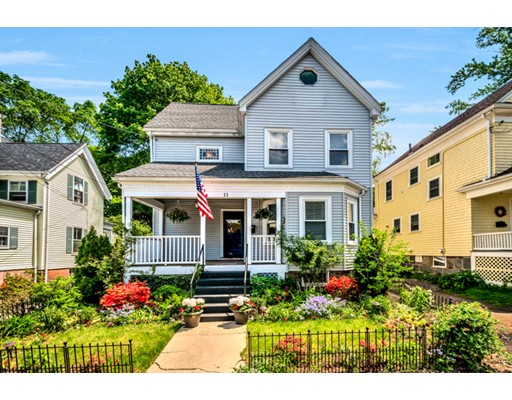 Single Family Home for Sale at 11 Heathcote Street Boston, Massachusetts 02131 United States