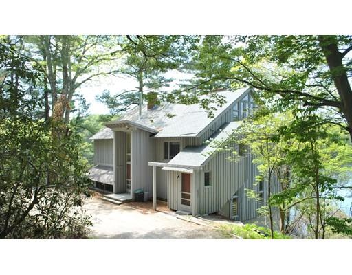 Casa Unifamiliar por un Alquiler en 213 Concord Road 213 Concord Road Lincoln, Massachusetts 01773 Estados Unidos