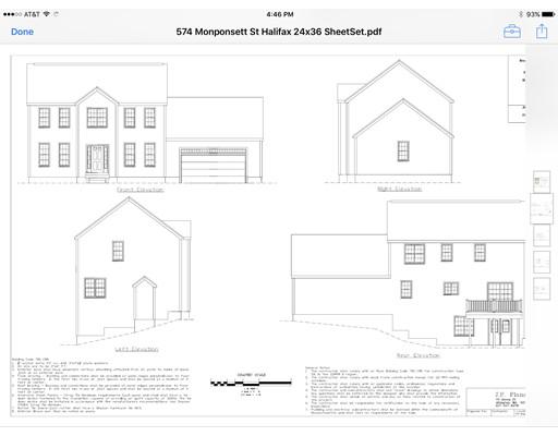 واحد منزل الأسرة للـ Sale في 574 Monponsett Street 574 Monponsett Street Halifax, Massachusetts 02338 United States