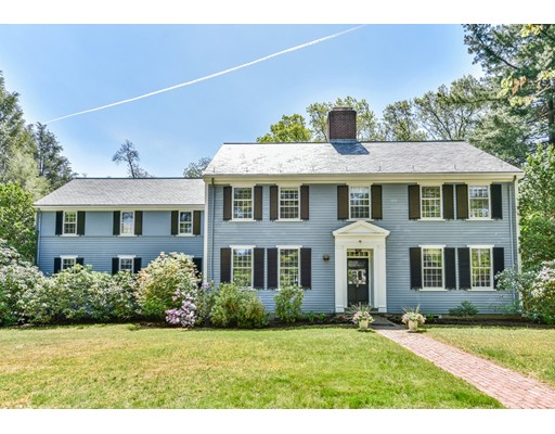 Single Family Home for Sale at 28 Denny Road Brookline, Massachusetts 02467 United States