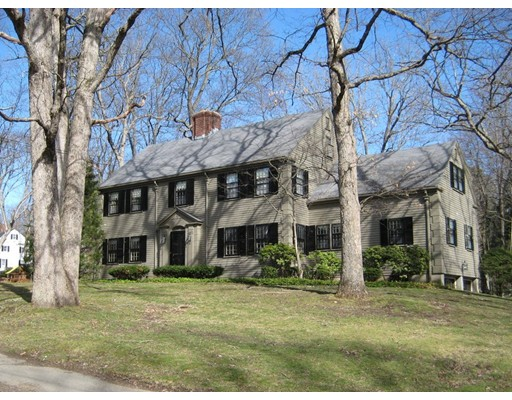 Single Family Home for Sale at 64 Bristol Road Wellesley, Massachusetts 02481 United States