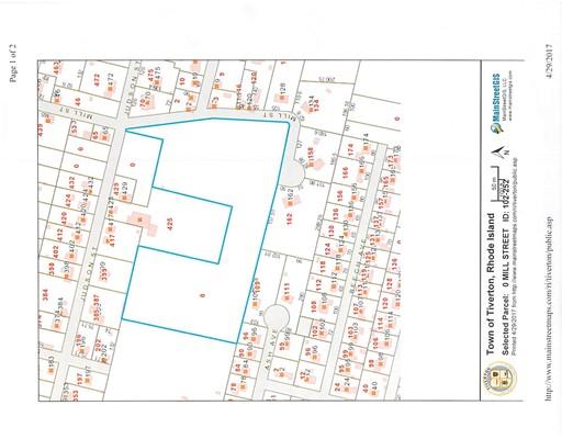 土地 为 销售 在 MILL 蒂弗顿, 02878 美国