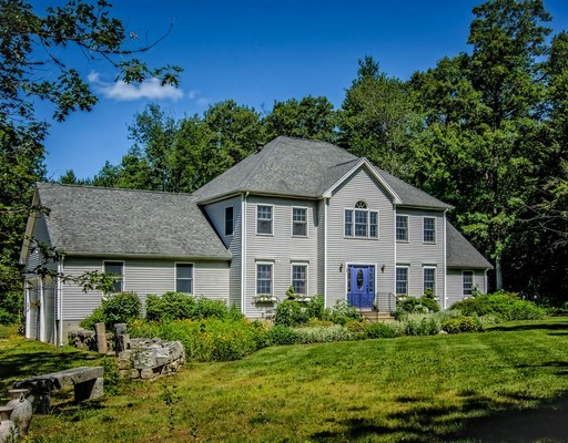 Single Family Home for Sale at 33 Molasses Hill Road Brookfield, Massachusetts 01506 United States