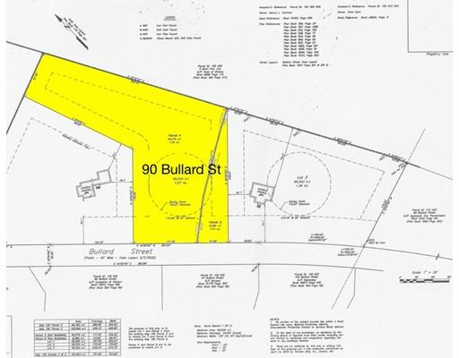 Land for Sale at 90 BULLARD Street 90 BULLARD Street Sharon, Massachusetts 02067 United States