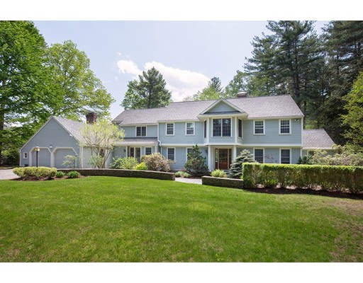 Single Family Home for Sale at 55 Sylvan Lane Weston, Massachusetts 02493 United States