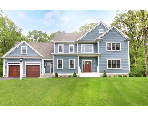 واحد منزل الأسرة للـ Sale في 77 Deerfield Avenue 77 Deerfield Avenue Westwood, Massachusetts 02090 United States
