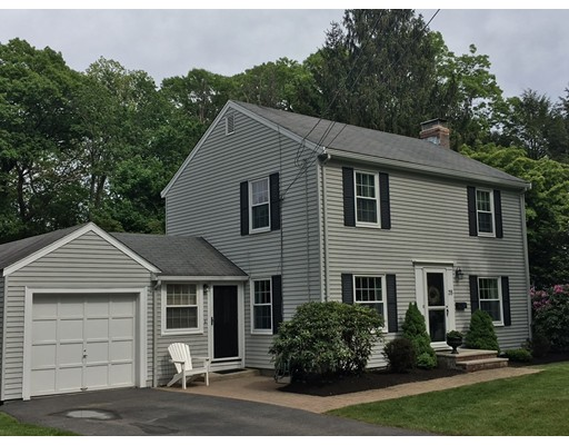 Single Family Home for Sale at 35 MACARTHUR Road Natick, Massachusetts 01760 United States
