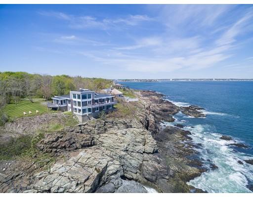 Maison unifamiliale pour l Vente à 6 Spouting Horn Road Nahant, Massachusetts 01908 États-Unis