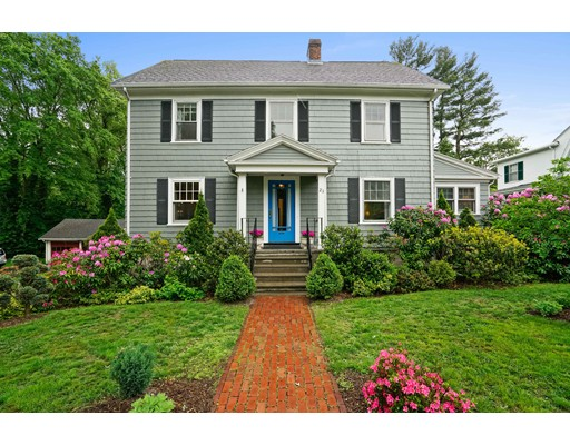 Single Family Home for Sale at 23 Wellesley Avenue Wellesley, Massachusetts 02482 United States