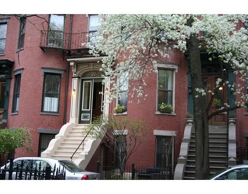 Casa Unifamiliar por un Alquiler en 27 Concord Square Boston, Massachusetts 02118 Estados Unidos