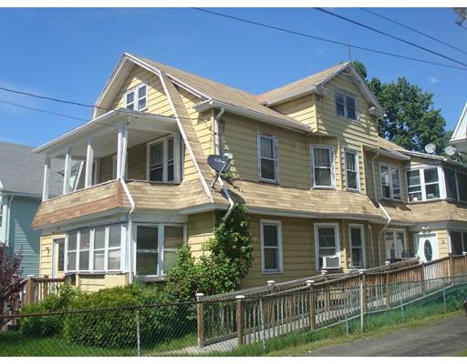 Casa Multifamiliar por un Venta en 421 Springfield Street Chicopee, Massachusetts 01013 Estados Unidos