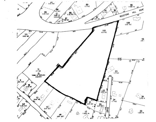 Land for Sale at 1 Redstone Hill Road Sterling, 01564 United States