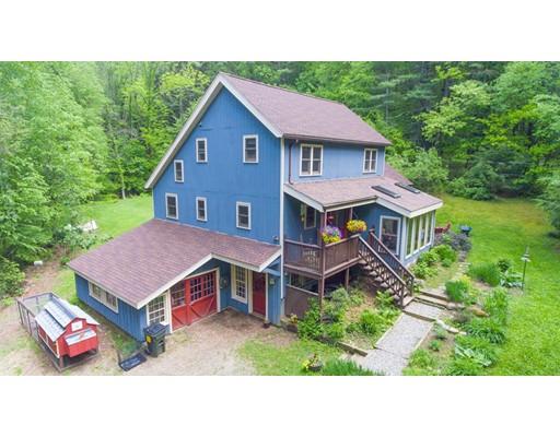 独户住宅 为 销售 在 91 Long Hill Road Leverett, 马萨诸塞州 01054 美国