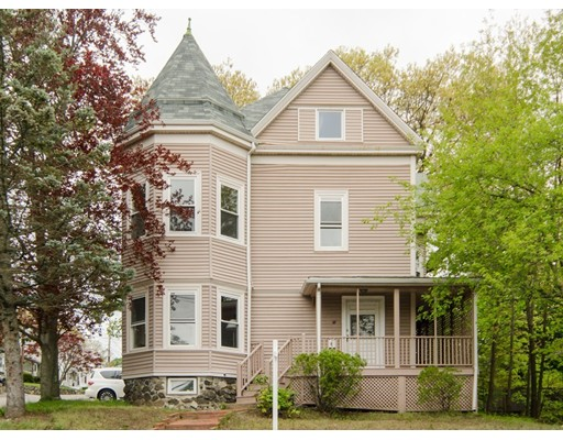 Single Family Home for Sale at 69 Plympton Street Waltham, Massachusetts 02451 United States