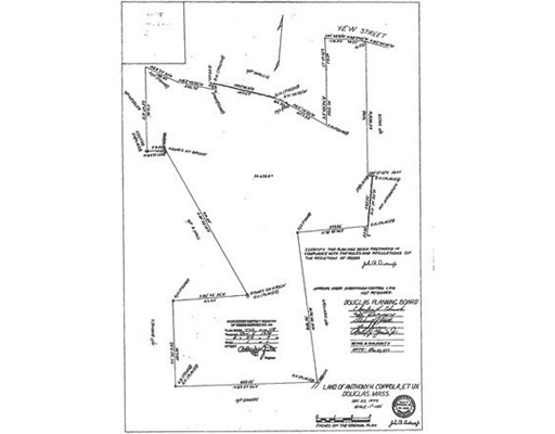 Land for Sale at 191 Yew Street Douglas, Massachusetts 01516 United States