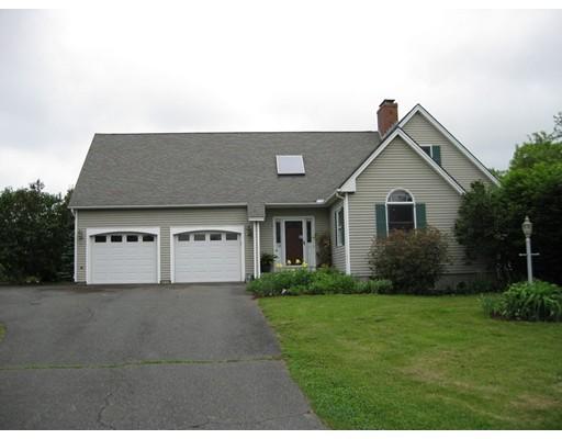 Частный односемейный дом для того Продажа на 12 Evans Lane Deerfield, Массачусетс 01373 Соединенные Штаты