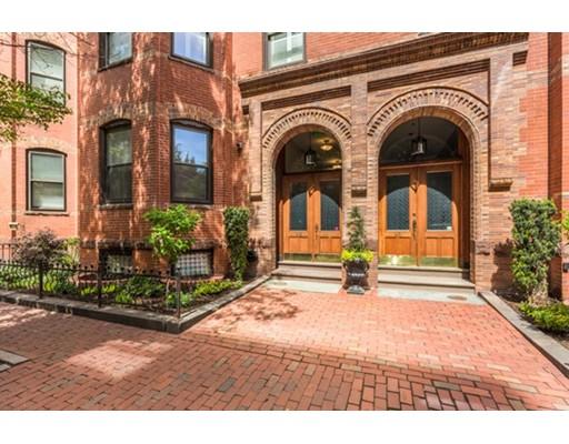 独户住宅 为 出租 在 63 Saint Botolph Street 波士顿, 马萨诸塞州 02116 美国