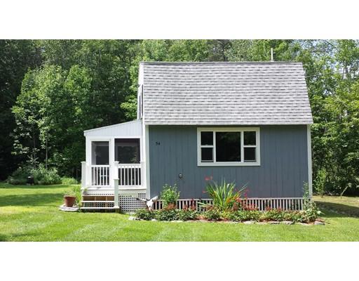 Maison unifamiliale pour l Vente à 54 Eggemoggin Road Harpswell, Maine 04079 États-Unis