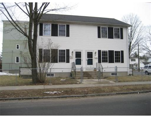 Single Family Home for Rent at 75 Holly Street Springfield, Massachusetts 01151 United States