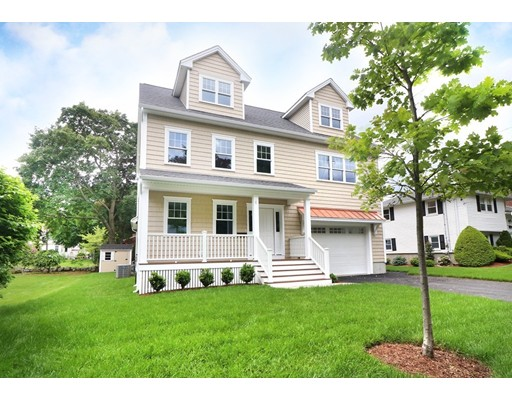 Single Family Home for Sale at 6 Tower Road Arlington, Massachusetts 02474 United States