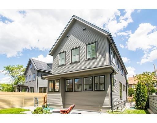 Single Family Home for Sale at 136 Cushing Street Cambridge, Massachusetts 02138 United States