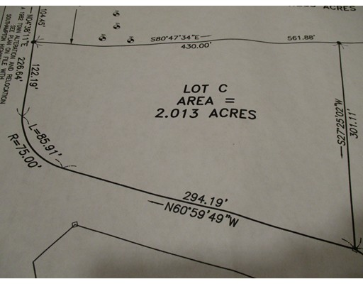 Land for Sale at 84 Fomer Road Southampton, Massachusetts 01073 United States