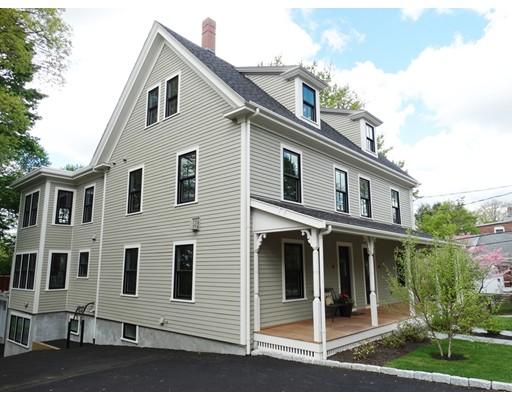 Single Family Home for Rent at 70 High Street Newton, Massachusetts 02464 United States